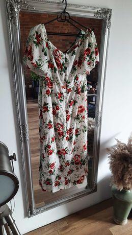 Sukienka maxi kwiatowa