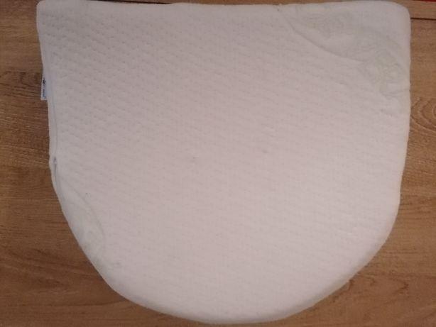 Poduszka klin do gondoli 33x30cm+poduszka motylek