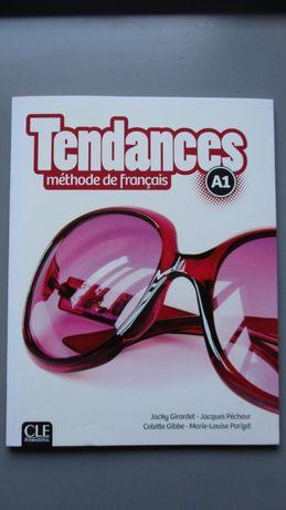 Tendances A1 książka ucznia podręcznik + CD CLE International francusk