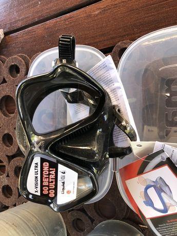 Mares Maska Do Nurkowania X-Vision Ultra Liquidskin Czarny