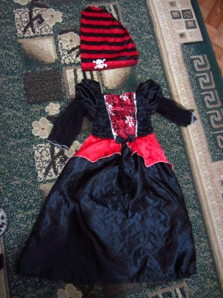 карнавальный ,новогодний костюм пиратки helloween