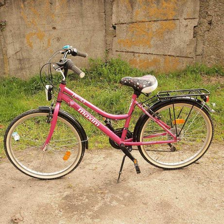 Rower dla nastolatki MAXIM Girl pink 24 cale jak NOWY