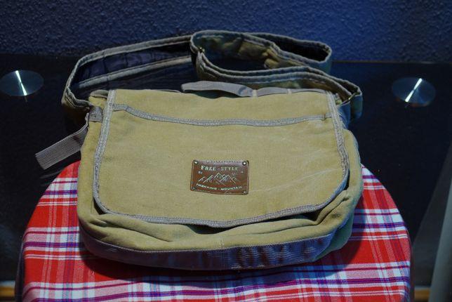 Наплічна вінтажна сумка Trekking - Mountain by MC