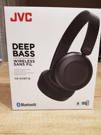 Nowe słuchawki JVC HA-S31BT-B
