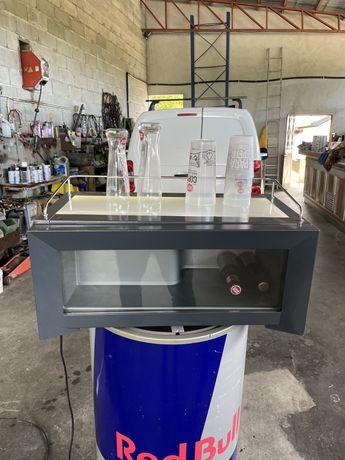 Minibar de refrigeração