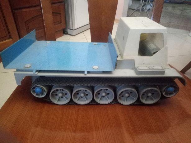 детская игрушка Вездеход гусеничный СССР длина 33 см