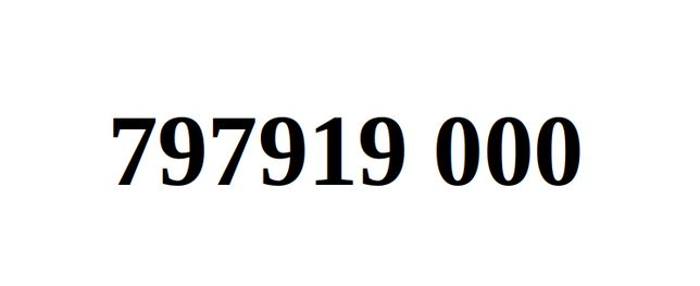 Ładny Numer Starter Orange 797919. 000