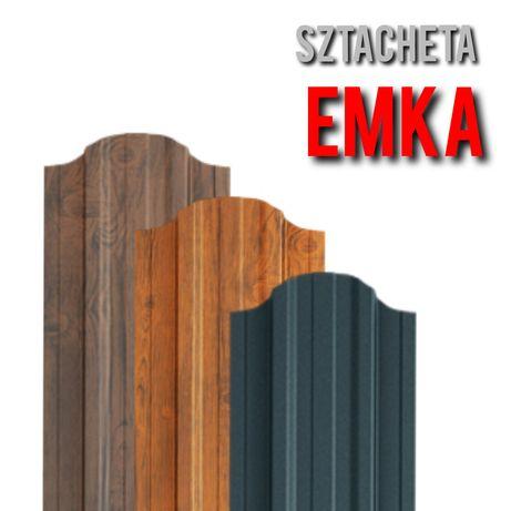 *Sztacheta Metalowa EMKA*Sztachety Metalowe z Blachy Ogrodzeniowe