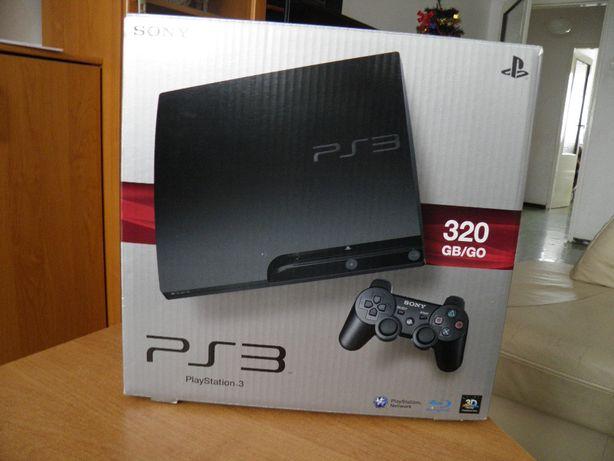 Pudełko po konsoli PlayStation 3 slim CECH-3004B 320GB