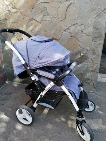 Продам прогулочную коляску QUATRO MONZA JEANS