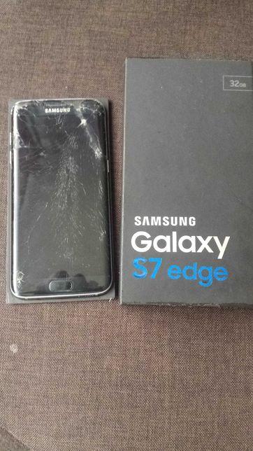 Samsung S7 EDGE 32GB Black Uszkodzony