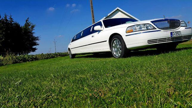 Limuzyna do ślubu, wieczory panieńskie i kawalerskie limuzyna Lincoln