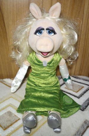 Muppet Show кукла коллекция Дисней Disney Miss Piggy Мисс Пигги 50 см
