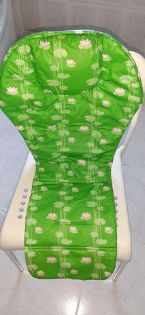 Forro Redutor Cinto Tabuleiro Cadeira Refeição CHICCO Polly USADO