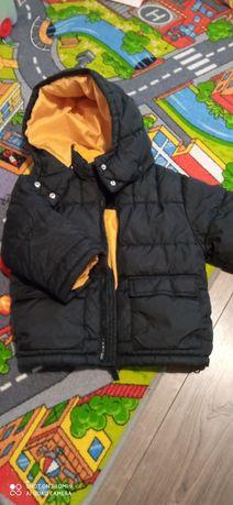Kurtka zimowa HM r.86 92 gratis czapka