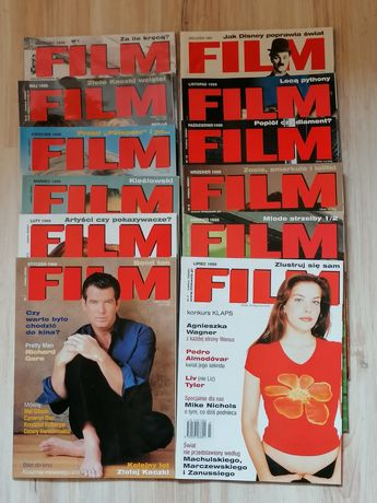 Magazyn-Czasopismo FILM, Rocznik 1998 Komplet 12 numerów, stan idealny