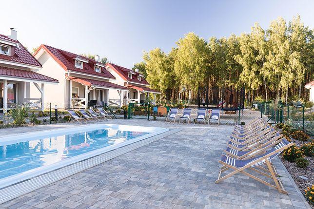 domki letniskowe całoroczne do wynajecia basen sauna jezioro