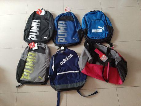 Plecaki szkolne Puma Adidas Nike