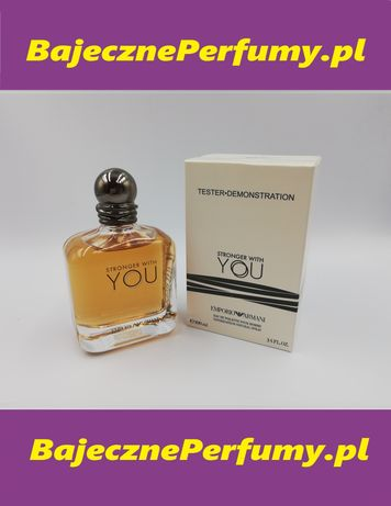 Perfumy ARMANI stronger with You 100ml tester poutesvb