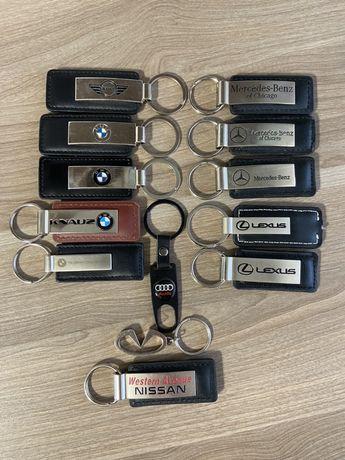 Оригинальный кожаный брелок BMW,MB,Audi,LEXUS,Nissan,Infiniti,MINI