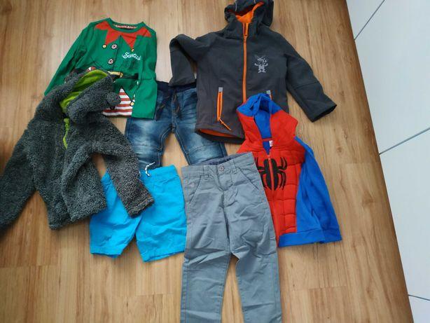 Zestaw ubrań chłopiec rozmiar 110 4-5Lat F&F Smyk