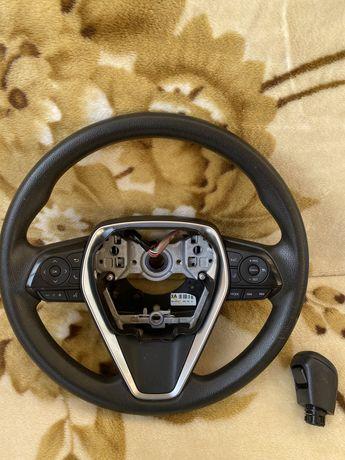 Продам Руль + ручка кпп Тойота Камри 70