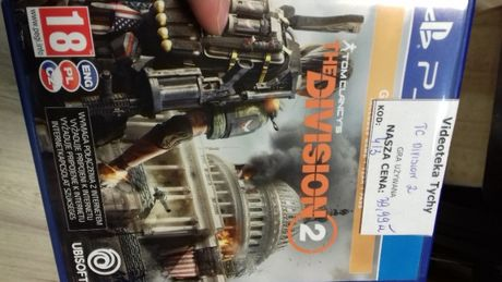 Tom clancy's the division 2 ps4 PL, tc ps4, gra nowa w folii, Sklep