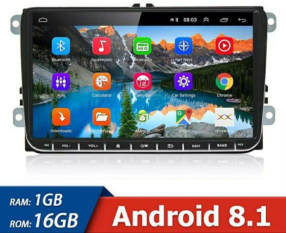 Radio Nawigacja Android 9.1 GPS RDS!! VW/Volkswagen/Golf,Skoda,Seat