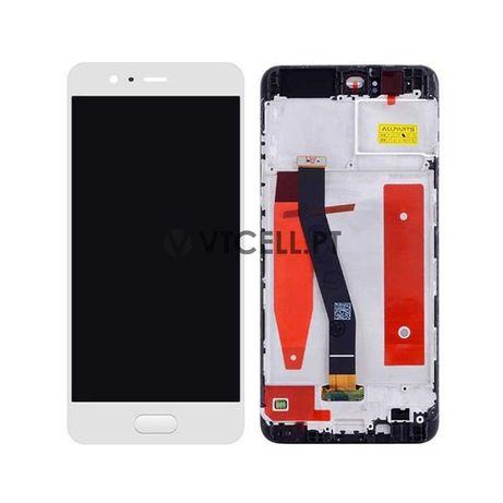 Ecrã LCD + Touch + Frame para Huawei P10 - Branco