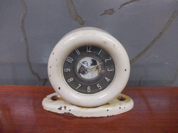 Zabytkowy zegar do autobusu ogórek sprawny