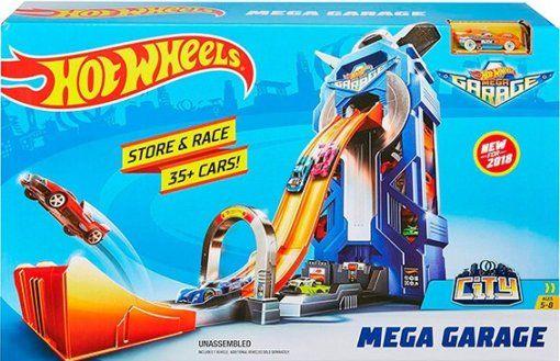 Трек Хот вилс Мега гараж HOT WHEELS mattel FTB68