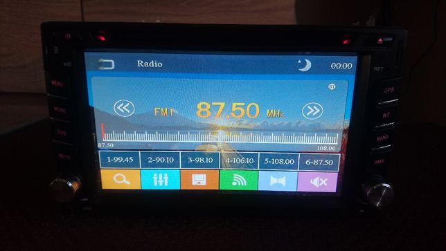 Radio 2DIN Beko - Gps, Usb, Dvd
