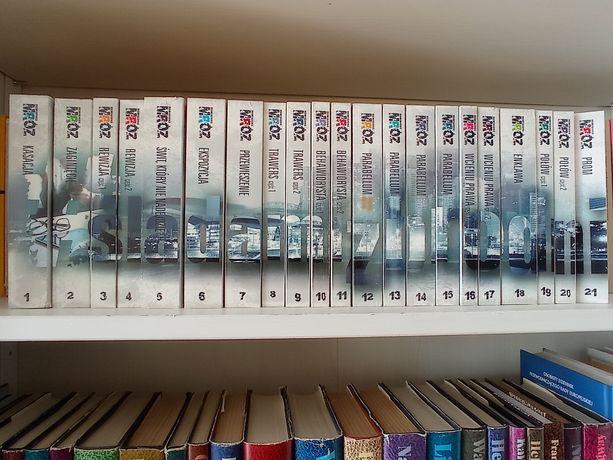 Kolekcja Śladami zbrodni Remigiusz Mróz 21 tomów komplet