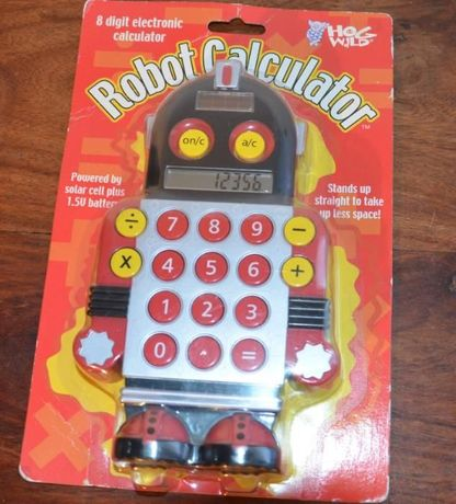 Máquina de Calcular – Robot Calculator