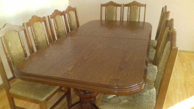 Stół i krzesła do salonu