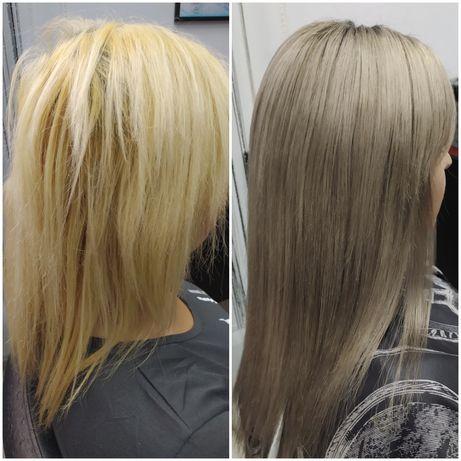 Наращивание волос а так же все виды парикмахерских услуг
