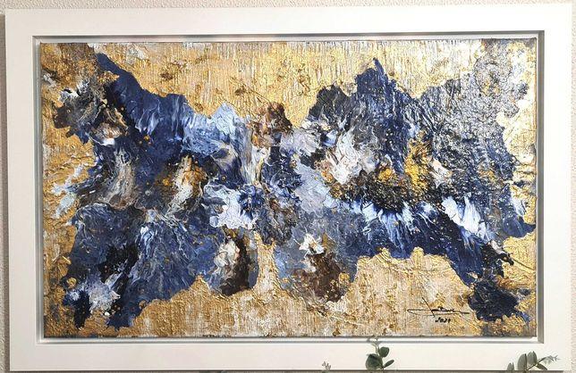 José Barbosa - Acrilico s/tela  técnica mista - Abstrato 2021