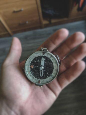 Wojskowy Kompas Na Rękę ZMO 1955r