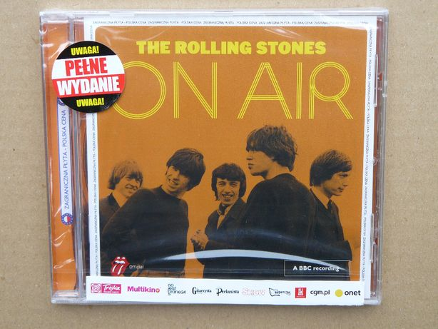 cd The Rolling Stones - On Air 2017 NOWA w FOLII