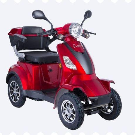 Scooter elétrica de mobilidade reduzida Movway Speedy - Nova!