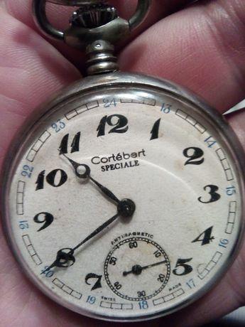 Relogio Cortébert Special antigo em prata