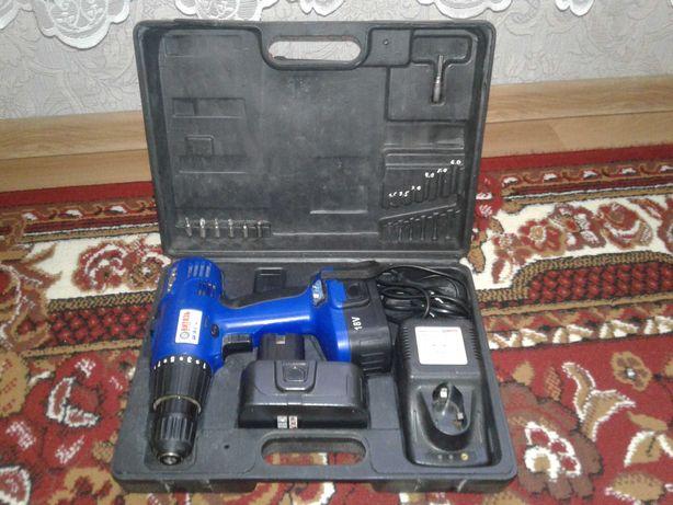 Шуруповерт аккумуляторный Витязь ДА-18-2