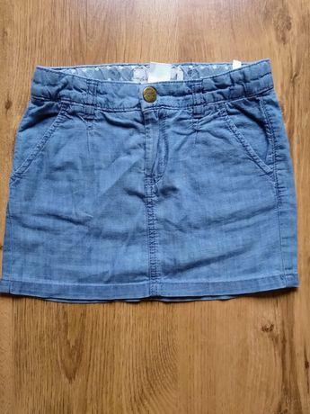 Spódniczka dżinsowa/jeansowa H&M r. 116