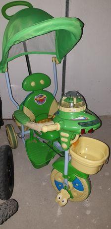 Rowerek trojkolowy Ufo chłopiec dziewczynka