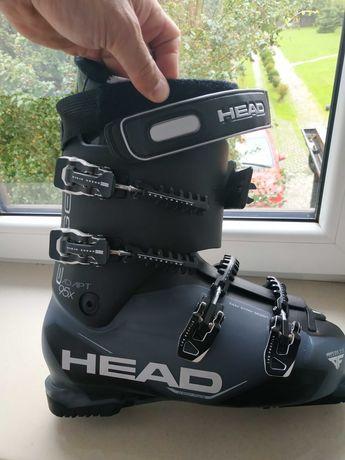 Buty narciarskie HEAD nowe, twardość 95x, rozmiar 45-46