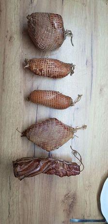 Swojskie szynki, boczek, polędwiczki, łosoś