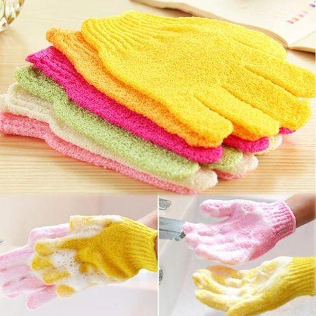 Набор перчаток мочалок для душа.