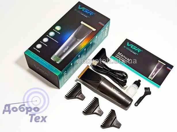 НОВЫЕ! VGR V-90 Триммер для стрижки бороды аккумулятор машинка стрижка