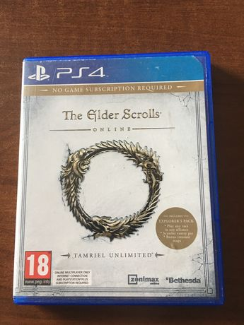 The Elder Scroll ps4