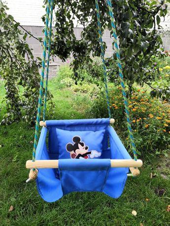Гойдалка дитяча, Мікі Маус, від 8 місяців, детская качеля Mickey Mouse